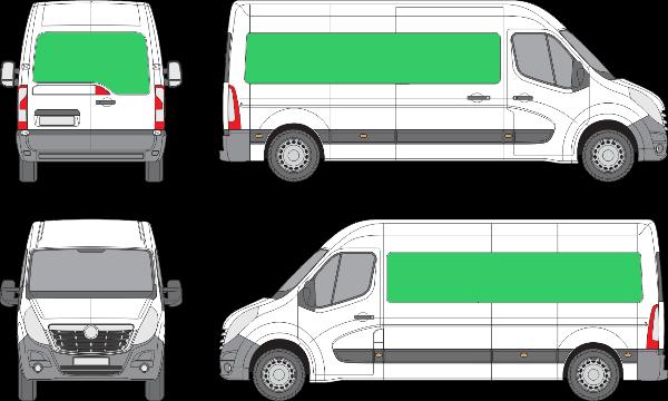 Opel Movano L3H2 (2010-2021)