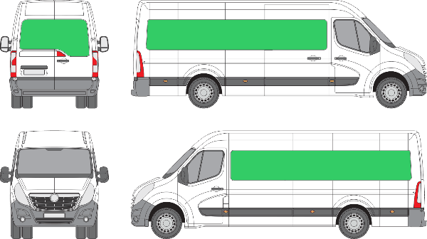 Opel Movano L4H2 (2010-2021)