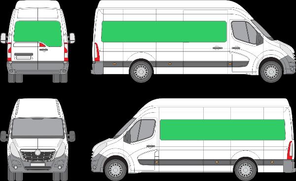 Opel Movano L4H3 (2010-2021)