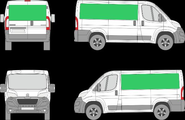 Peugeot Boxer L1H1 (2014-2021)