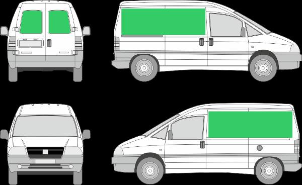 Peugeot Expert L1H1 (2001-2006)