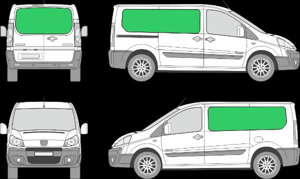 Peugeot Expert L1H1 (2007-2015)
