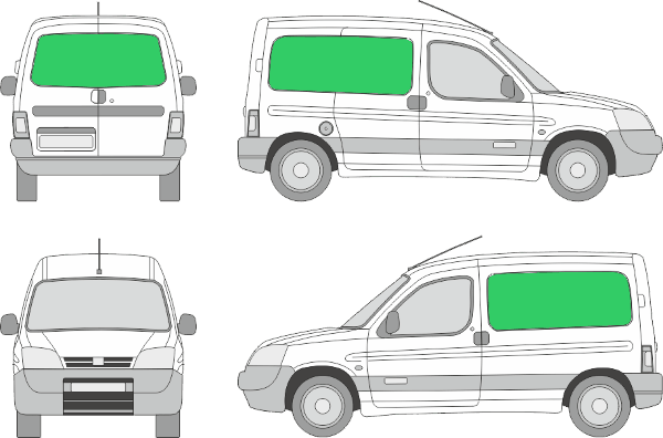 Peugeot Partner L1H1 (2003-2007)
