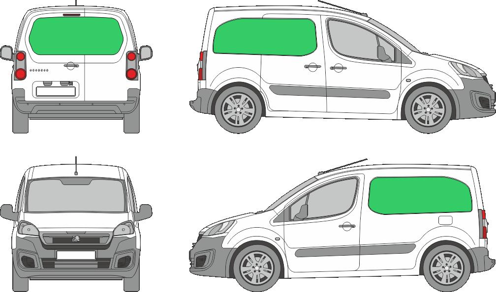 Peugeot Partner L1H1 (2008-2017)