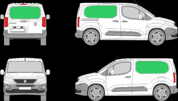 Peugeot Partner L1H1 (2018-2021)