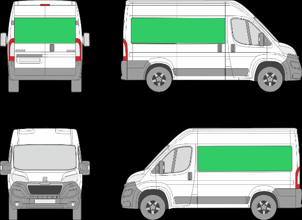 Peugeot Boxer L1H2 (2014-2021)