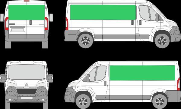 Peugeot Boxer L2H1 (2014-2021)