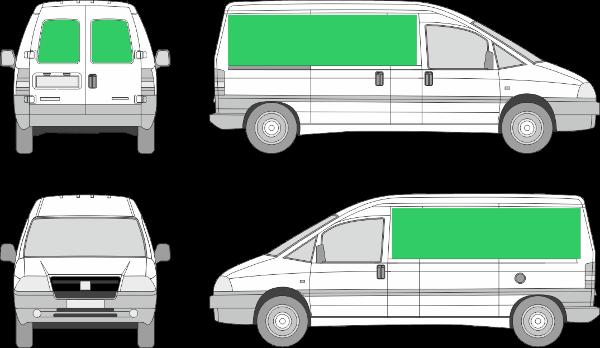 Peugeot Expert L2H1 (2001-2006)