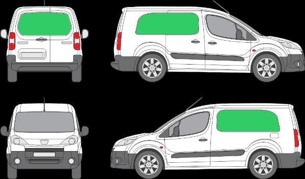 Peugeot Partner L2H1 (2008-2017)