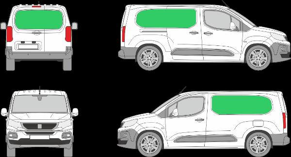 Peugeot Partner L2H1 (2018-2021)