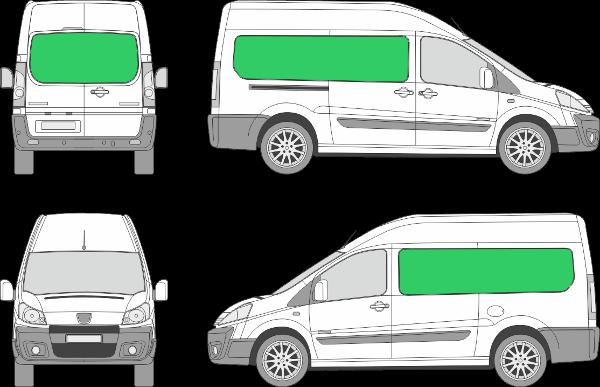 Peugeot Expert L2H2 (2007-2015)