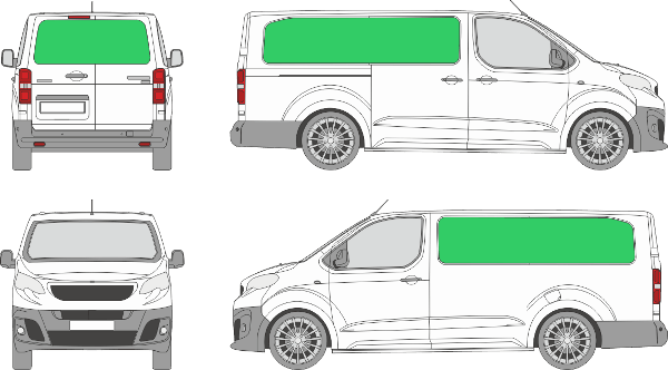 Peugeot Expert L3H1 (2016-2021)