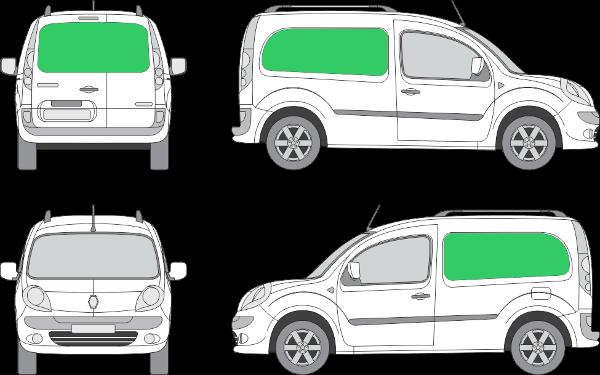 Renault Kangoo L1H1 (2008-2021)