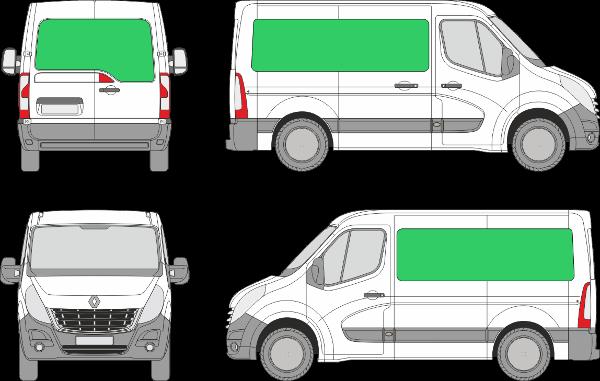 Renault Master L1H1 (2010-2019)