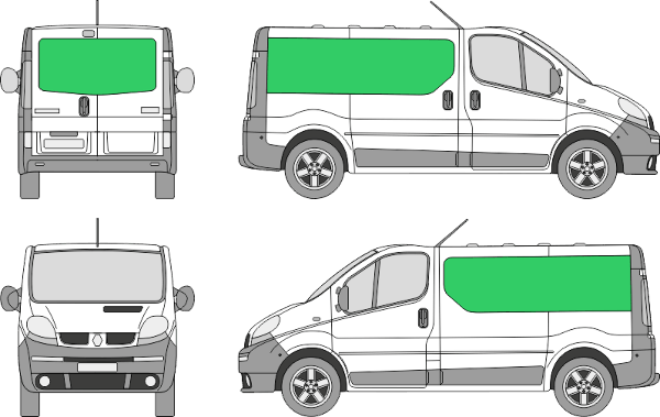Renault Trafic L1H1 (2000-2013)