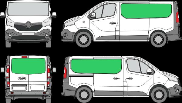 Renault Trafic L1H1 (2014-2021)