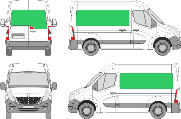 Renault Master L1H2 (2010-2019)