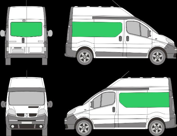 Renault Trafic L1H2 (2000-2013)