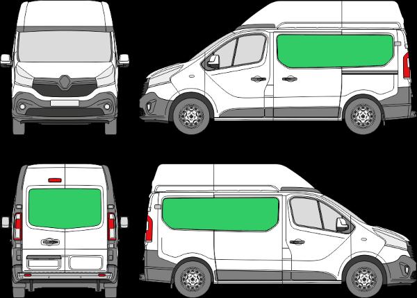 Renault Trafic L1H2 (2014-2021)