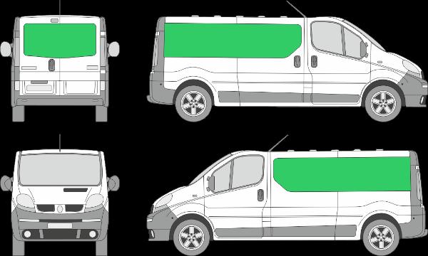 Renault Trafic L2H1 (2000-2013)