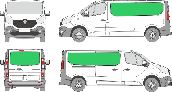 Renault Trafic L2H1 (2014-2021)