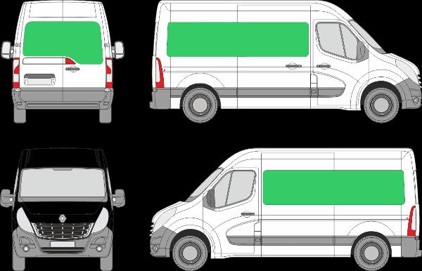 Renault Master L2H2 (2010-2019)