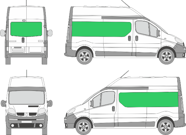 Renault Trafic L2H2 (2000-2013)