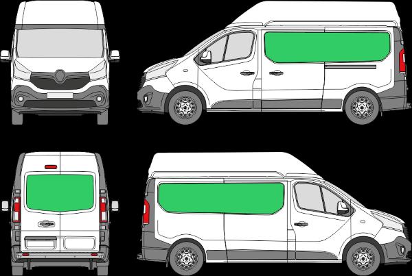 Renault Trafic L2H2 (2014-2021)