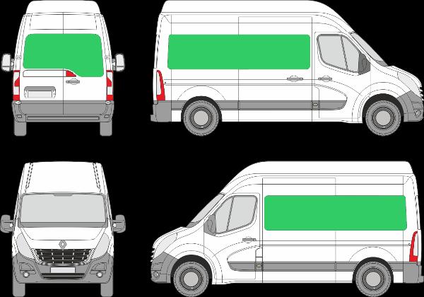 Renault Master L2H3 (2010-2019)