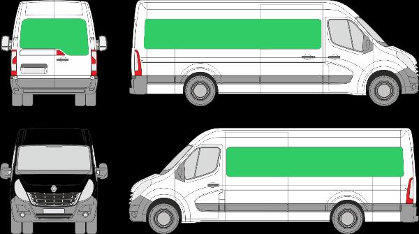 Renault Master L4H2 (2010-2019)