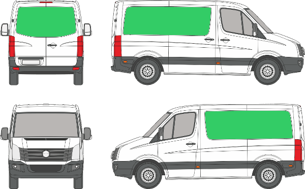 Volkswagen Crafter Compact (2006-2016)