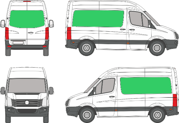 Volkswagen Crafter Compact H3 (2006-2016)