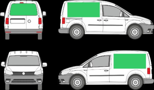Volkswagen Caddy L1H1 (2003-2019)