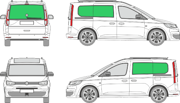 Volkswagen Caddy L1H1 (2020-2021)
