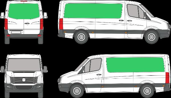 Volkswagen Crafter L1H1 (2006-2016)