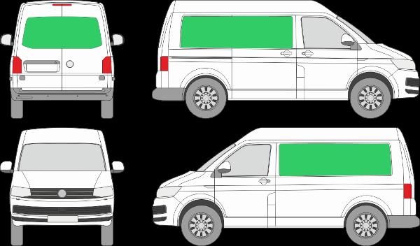 Volkswagen Transporter L1H2 (2009-2021)