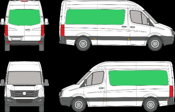 Volkswagen Crafter L1H3 (2006-2016)