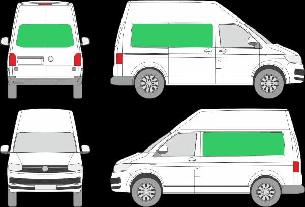 Volkswagen Transporter L1H3 (2009-2021)