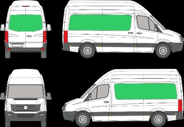 Volkswagen Crafter L1H4 (2006-2016)