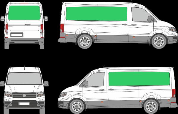 Volkswagen Crafter L2H1 (2017-2021)