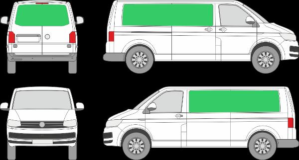 Volkswagen Transporter L2H1 (2009-2021)