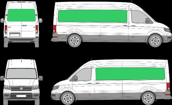 Volkswagen Crafter L3H2 (2017-2021)