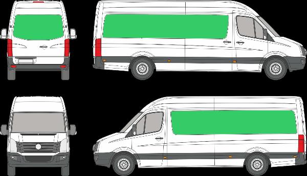 Volkswagen Crafter L3H3 (2006-2016)