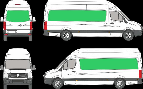 Volkswagen Crafter L3H4 (2006-2016)