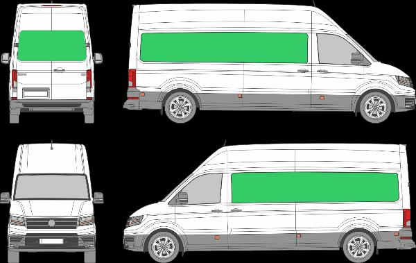 Volkswagen Crafter L3H4 (2017-2021)