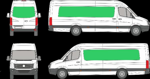 Volkswagen Crafter L4H3 (2006-2016)