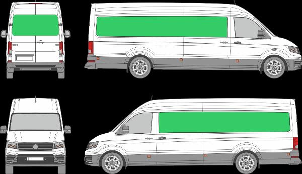 Volkswagen Crafter L4H3 (2017-2021)