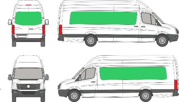 Volkswagen Crafter L4H4 (2006-2016)