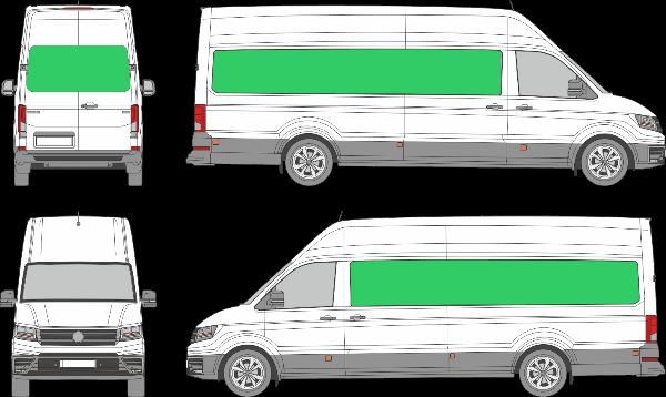 Volkswagen Crafter L4H4 (2017-2021)